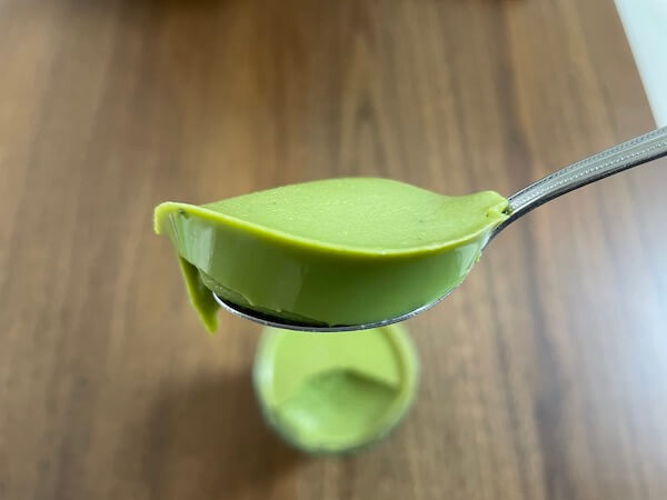 ufit完全栄養食抹茶でゼリーを作ってみた!